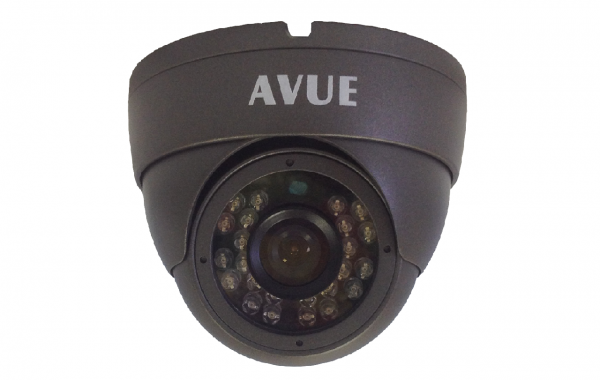 AV765EIR – 700TVL DARK GRAY DOME CAMERA