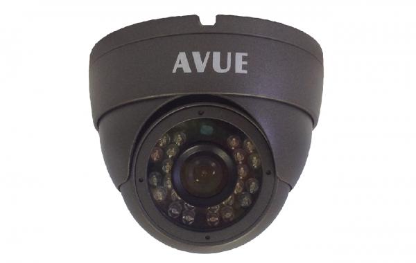 AV765EIR – 700TVL DARK GRAY DOME CAMERA