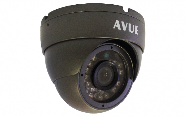 AV765EIRA – 700TVL DARK GRAY DOME CAMERA WITH AUDIO