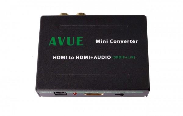 HDMI-A011 – HDMI TO HDMI+SPDIF+L/R