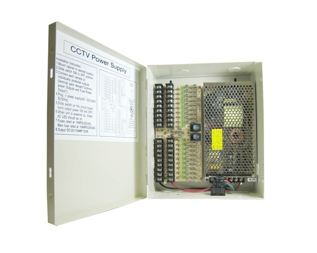 PD10AxxD – 9/18-CH DC Power Distribution Box
