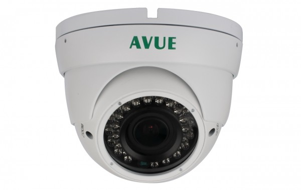 AV676PIRW – 1000 TVL Dome CCTV Camera with 2.8-12mm Lens and OSD