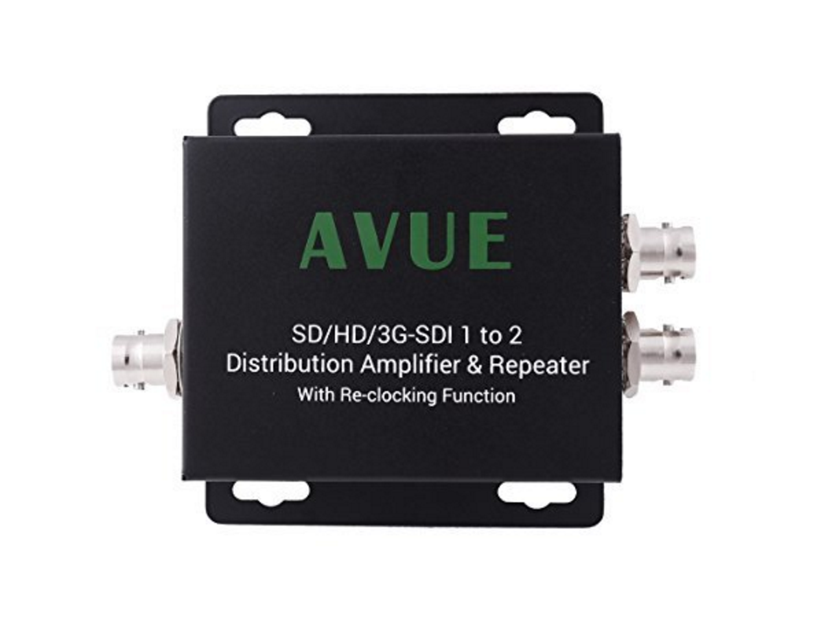 Converters Extenders Avue Advanced Video Surveillance Rbvhda8 3g Hd Sdsdi 1 Input 8 Output Distribution Amplifier Sde 12rn Repeater