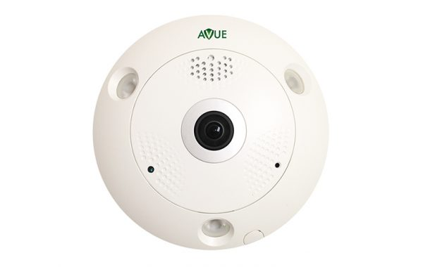 AV566IP-127F – 6MP Fisheye Camera