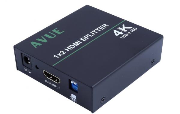 HDE-124K – 1×2 HDMI Splitter