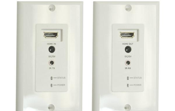 HDMI- EC200W – HDMI Extender Wall Plate over Cat5e/6