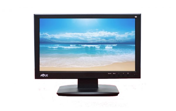 AVG20WBV-2D – 19.5 Inch Full HD 1080P CCTV LED Monitor with BNC/CVBS