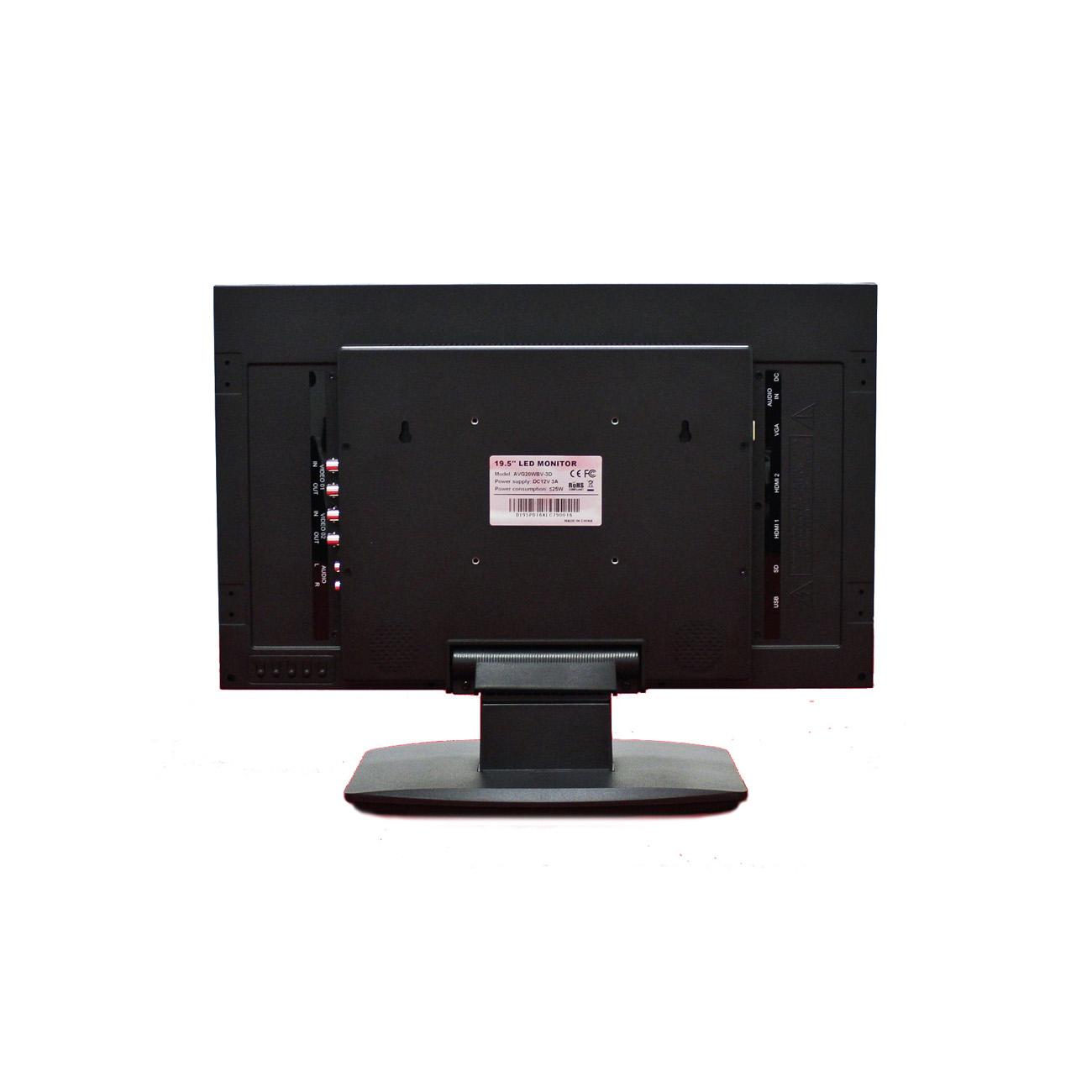 Back To Back Monitor : Avg wbv d inch full hd p cctv led monitor