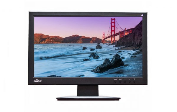 AVK10S22W – 21.5″ FULL HD 1080P CCTV LED MONITOR with BNC/CVBS, USB, SD READER (2017)