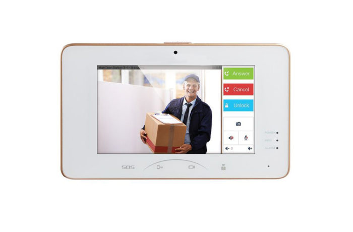 AVDS830T, Video Intercom Indoor Station with 7-inch Touch Screen
